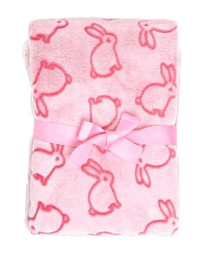 Pink Embossed Blanket