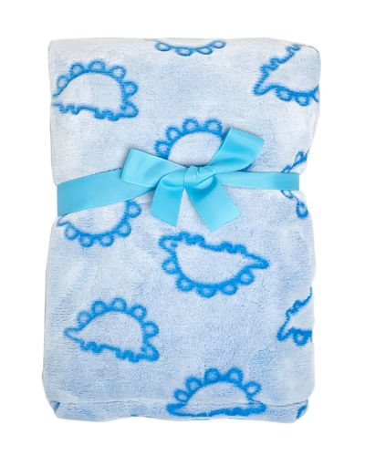 Blue Embossed Blanket
