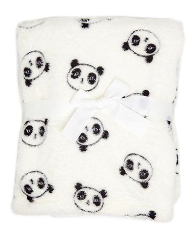 Panda Embossed Blanket