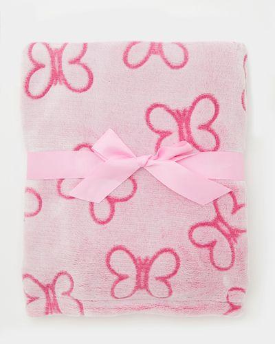 Butterfly Embossed Blanket
