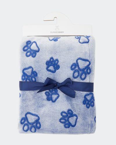 Paw Print Soft Blanket