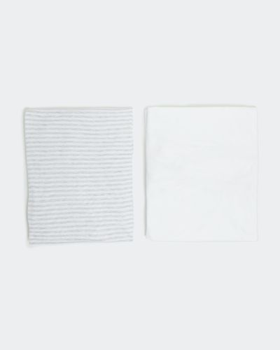 Fitted Cot Sheets - Pack Of 2