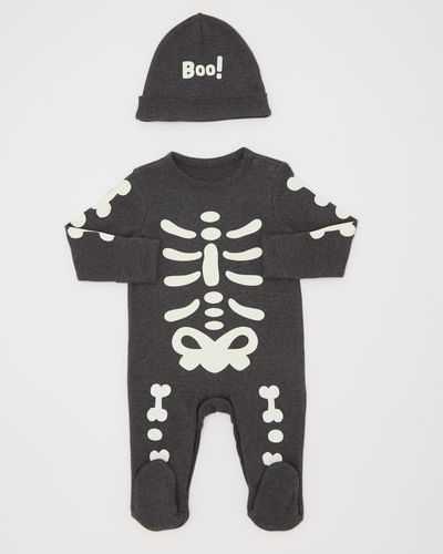 Skeleton Sleepsuit (0-12 months)
