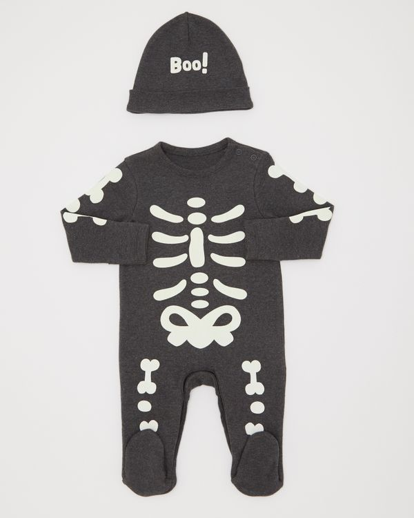 Skeleton Sleepsuit (0-12 months)