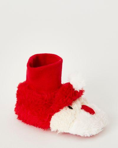 Santa Sock Top