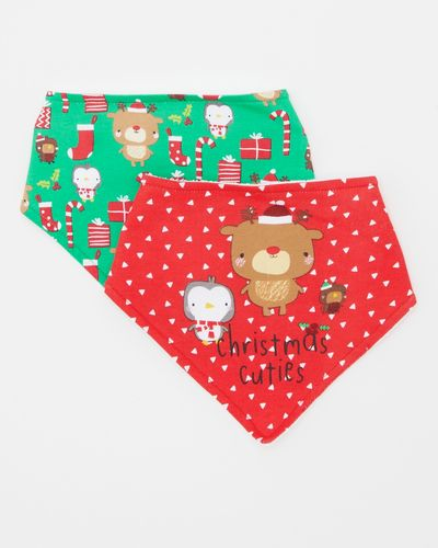 Christmas Bibs - Pack Of 2