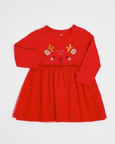 Mesh Christmas Dress (0-12 months)