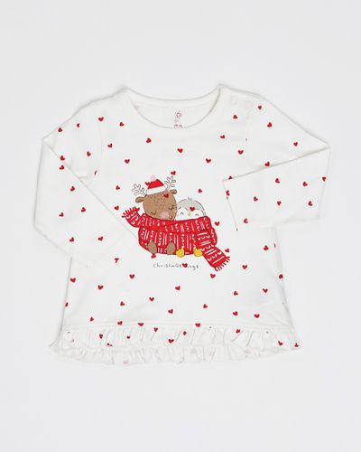 Girls Christmas Top (0-12 months)