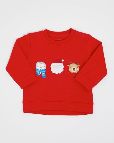 Christmas Crew-Neck Sweater (0-12 months)