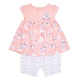 pink Two Piece Winnie The Pooh Set