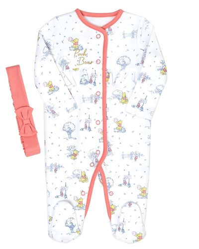 Winnie Sleepsuit And Headband Set (0 -12 months)