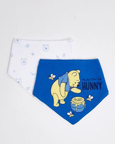 Pooh Blue Bibs - Pack Of 2