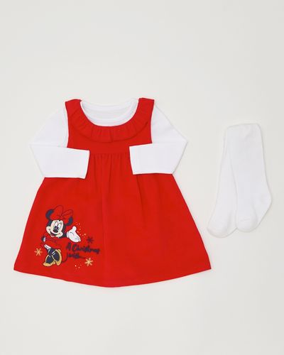 Three-Piece Minnie Mouse Cord Dress (0-12 months)