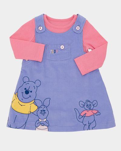 Winnie Cord Dress Set (0-12 months)