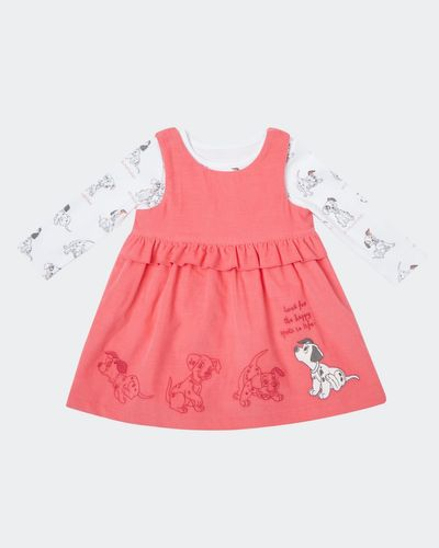 Two Piece Dalmatians Cord Dress Set (0-12 months) thumbnail