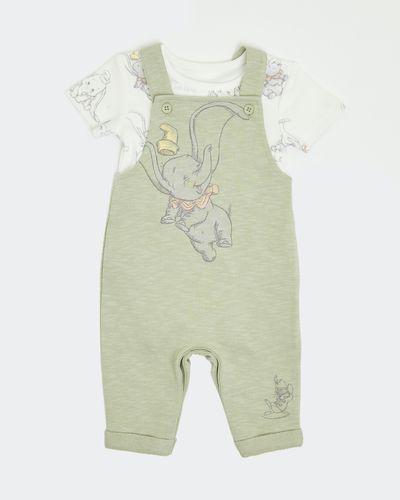 Two-Piece Dumbo Dungaree Set (Newborn - 12 months)