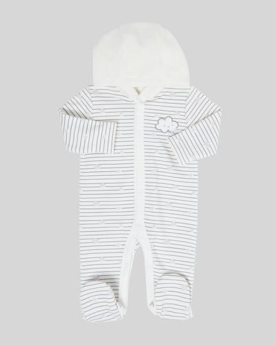 Hooded Jersey all-in-one (0-12 months)