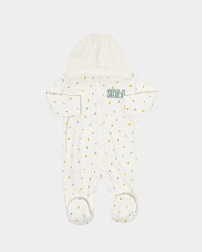 Hooded Jersey all-in-one (Newborn-12 months) thumbnail