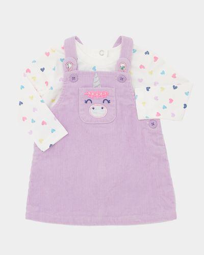 Unicorn Dress (0-12 months)
