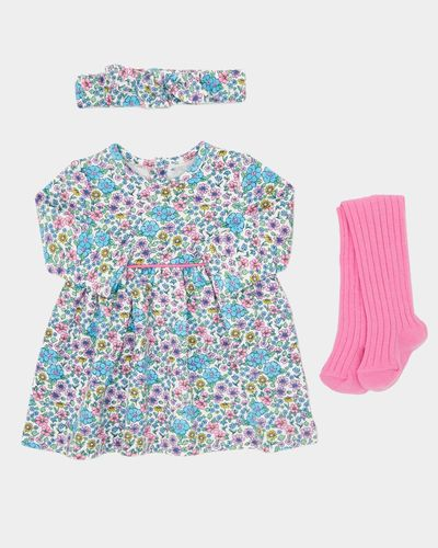 Three-Piece Dress Set (0-12 months)