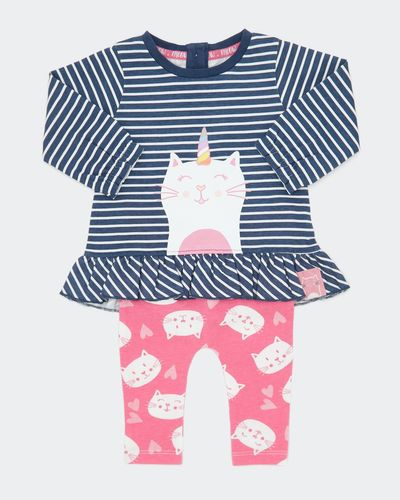 Two-Piece Stripe Set (0-12 months) thumbnail