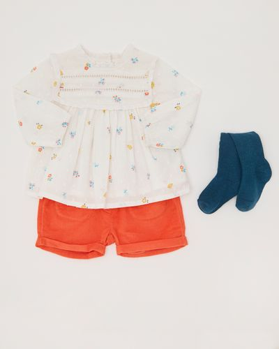 Three Piece Short Set (0-12 months)