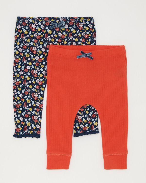 2pk Floral Legging