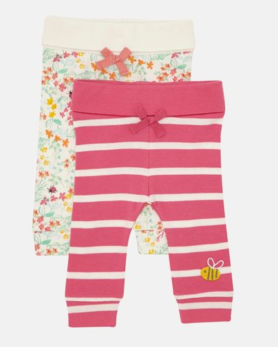 Grow Your Own Leggings - Pack Of 2 (0-12 months)