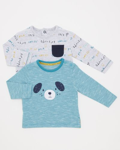 Puppy Tops - Pack Of 2 (0-12 months)