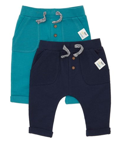 Joggers - Pack Of 2 (0-12 months)