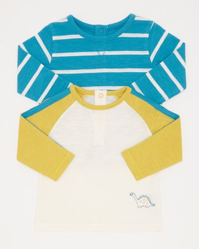 Raglan Top - Pack Of 2 (0-12 months)