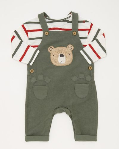 2pc Bear  Dungaree