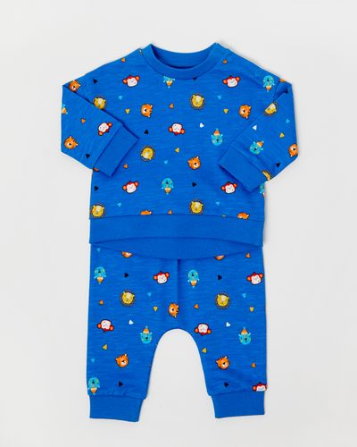 Two Piece All-Over Sweat Set (0-12 months) thumbnail