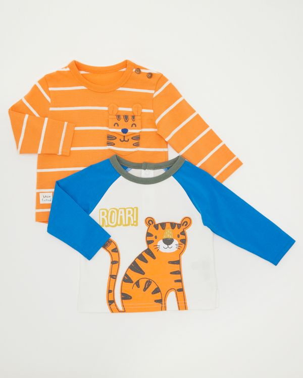 Tiger  Tops - Pack Of 2 (0-12 months)
