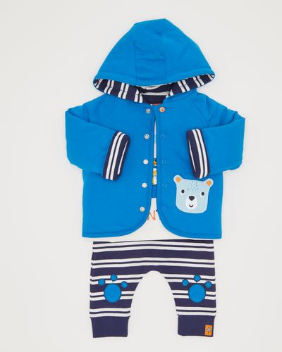 Three-Piece Jacket Set (0-12 months)