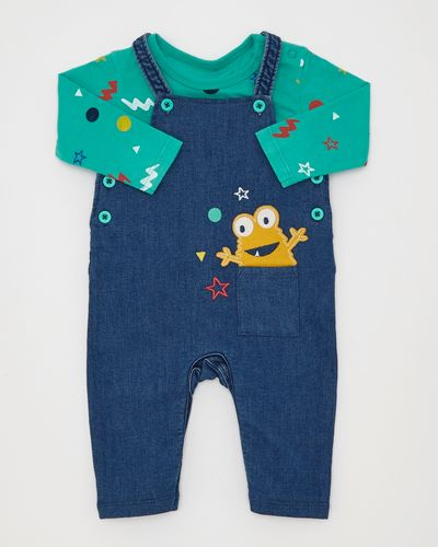 Two-Piece Monster Dungaree (0-12 months)