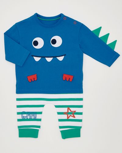 Two-Piece Monster Set (0-12 months)