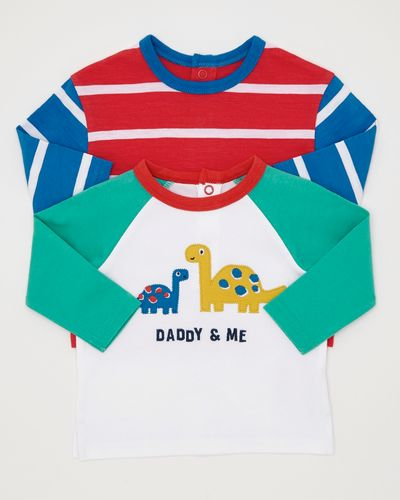 Dino Tops - Pack Of 2 (0-12 months)