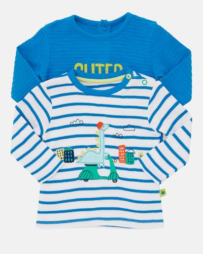 Dino Top - Pack Of 2 (0-12 months)