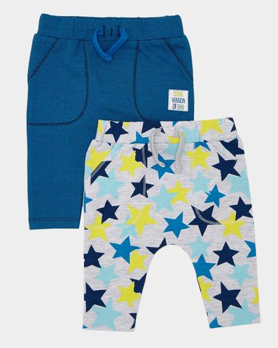 Star Joggers - Pack Of 2 (0-12 months)