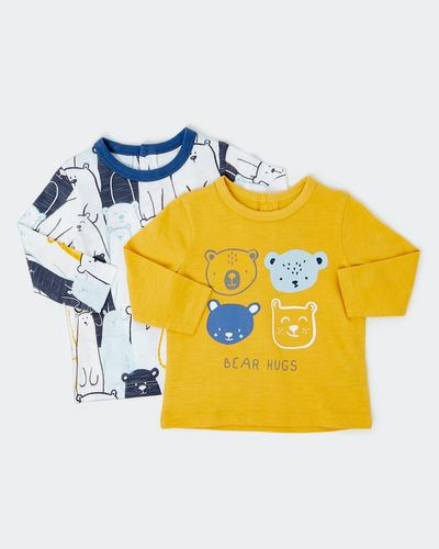 Bear Top - Pack Of 2 (0-12 months) thumbnail
