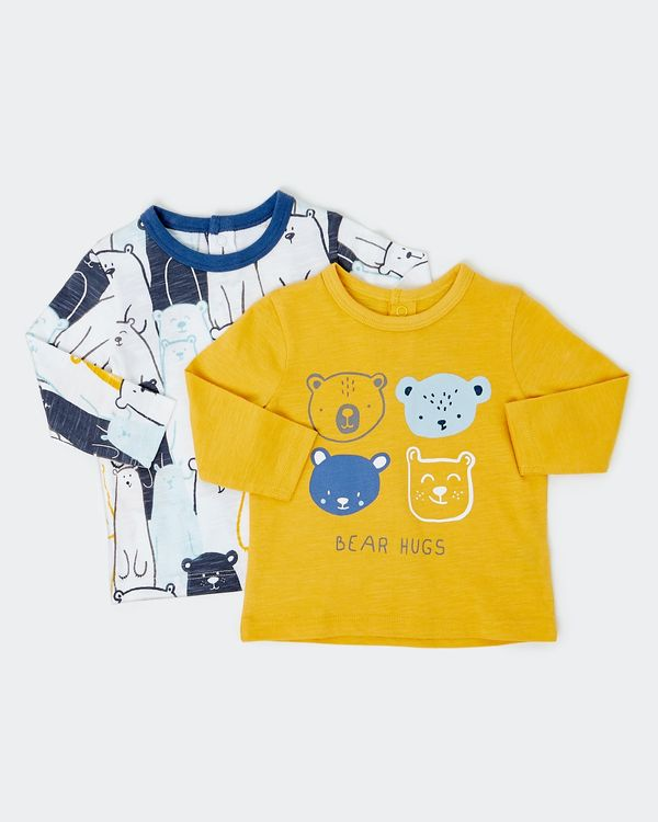 Bear Top - Pack Of 2 (0-12 months)