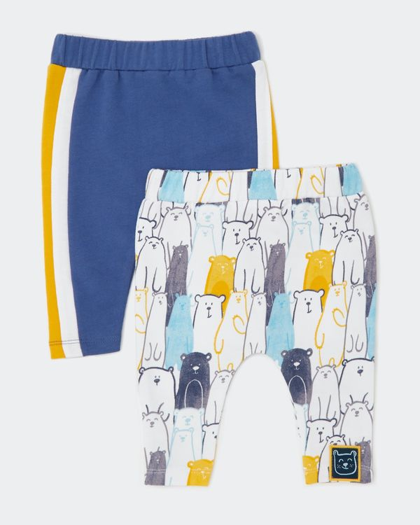 Bear Joggers - Pack Of 2 (0-12 months)