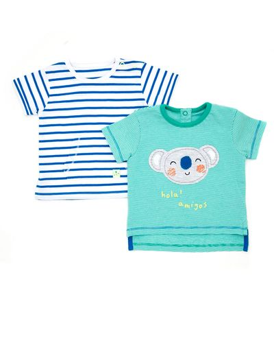 Koala Tops - Pack Of 2 (0-12 months)
