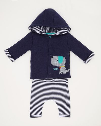 Three Piece Jacket Set (0-12 months)