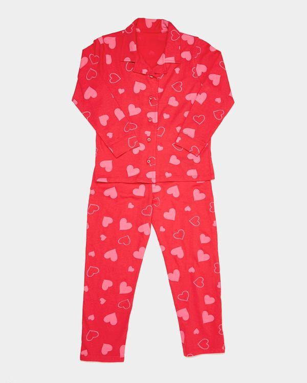 Easy Dressing Heart Pyjamas