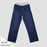 denim Boys Wide Leg Jeans