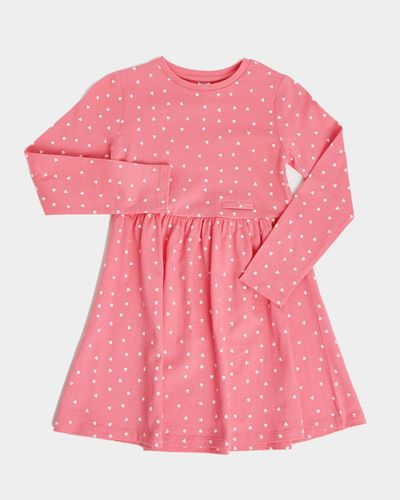 Girls Easy Dressing Printed Dress (2-14 years)
