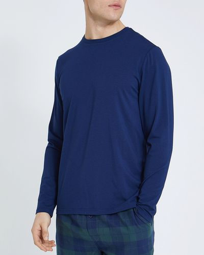 Long-Sleeved Cotton Modal Elastane Top