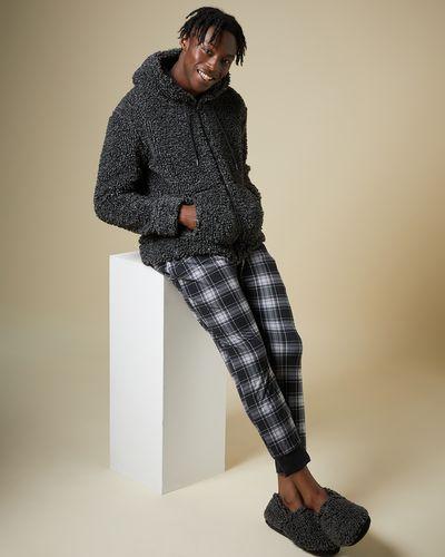 Check Soft Fleece Pyjama Pant